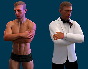 James Bond - Daniel Craig 3D model