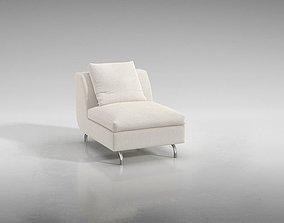 Luxurious Seating Sofa 3D