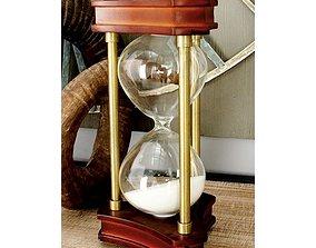 3D model Charlton Home Jamaica Avenue Sand Timer Hourglass