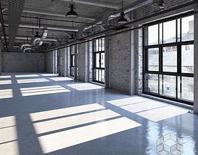 3D Loft Interior 5