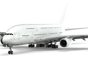 Airbus A380 clearpaint - element 3D