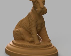 3D printable model Chien
