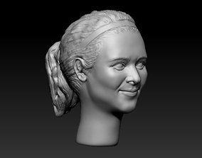 Female head 32 3D print model