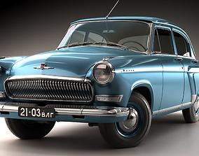 GAZ Volga 21 3rd series 1962 3D