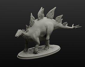 Stegosaurus model intended for 3D printing