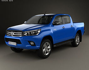 Toyota Hilux Double Cab Revo 2015 3D