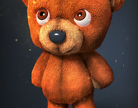 3D asset rigged Cute Teddy