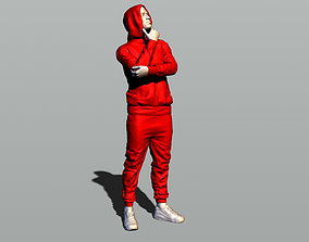 3D print model Man in a hoody
