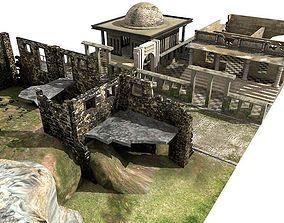 Lowpoly Ruinous 02 3D
