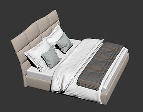 Cattelan ItaliaMARSHALL bed vray render ready 3D model