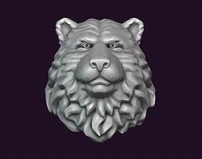 Bear Head 3D print model