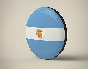 Argentina Badge 3D model