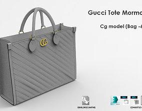 3D model Gucci Tote Mormont Bag