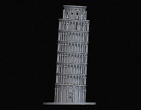 Leaning Tower of Pisa 3D printable model