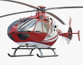 Eurocopter EC 135 Medical Red 3D