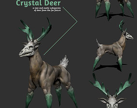 Crystal Deer 3D model