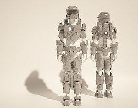 Custom Master Chief Halo4 cosplay style costume files 3