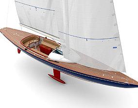 yacht Eagle 44 3D