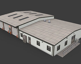 Suburban Fire Department 3D asset police