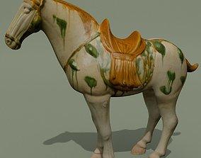 Horse Statuette N 3D model