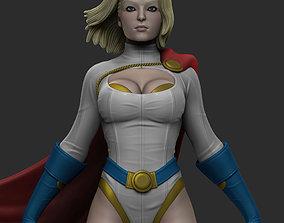 Power Girl 3D print model
