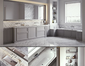 3D model LORIGINE Aeterna Bathroom set