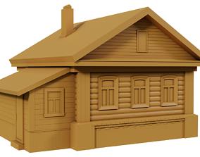 miniatures Village house 3D printing