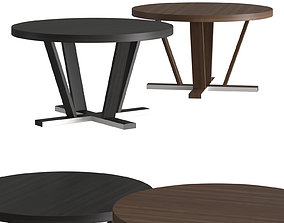 3D Potocco Aura Round Dining Table