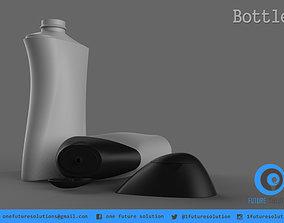 Bottle animation 3D