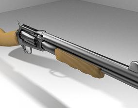 3D Revolver - Shortgun Type 2