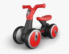 3D model Luddy Baby Balance Bike