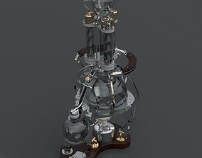 3D model Distiller autonomous on a gas burner