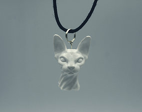 Sphynx Cat For 3D Printing sculpture