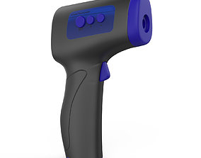 Infrared thermometer 3D model with keyshot file