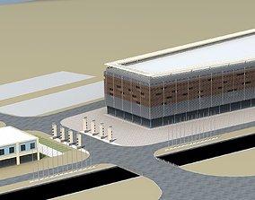 Architecture 3D model landmark