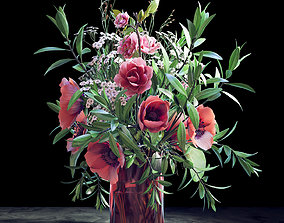 Bouquet 07 3D model