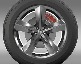 Dodge Challenger SRT8 wheel 3D