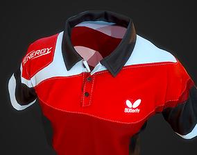 3d model sports uniform VR / AR ready