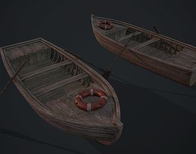 Fishing boat 3D asset realtime PBR