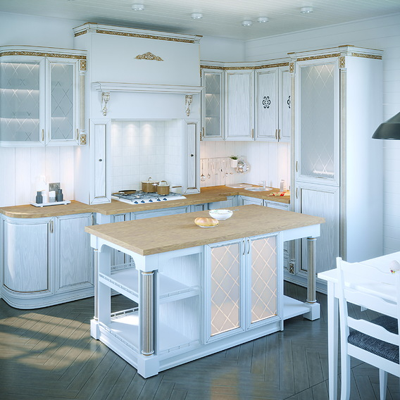 Classical style kitchen