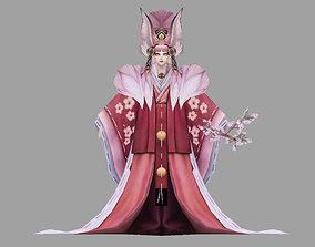 3D model animated Queen