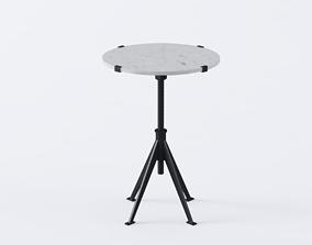 Edith Adjustable Side Table 3D model