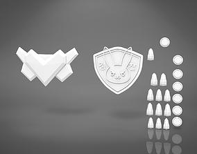 DVa officer accessories - OVERWATCH 3D PRINT