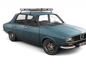 3D model Rusty Dacia 1300