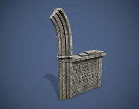 Medieval Ruins 3D model