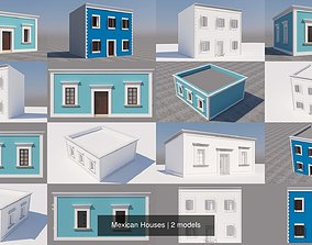 3D Mexican Houses