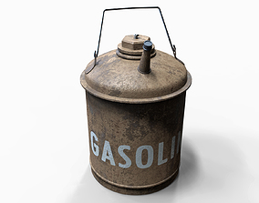 Old Gasoline Can 3D