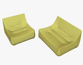 3D Armchair and Sofa Ligne Roset Sake