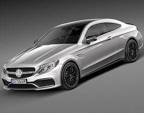 Mercedes-Benz C63 AMG Black Series 3D model
