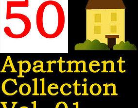3D model Apartment Collection Vol 01